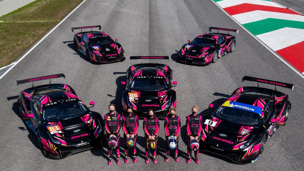 all-female racing team